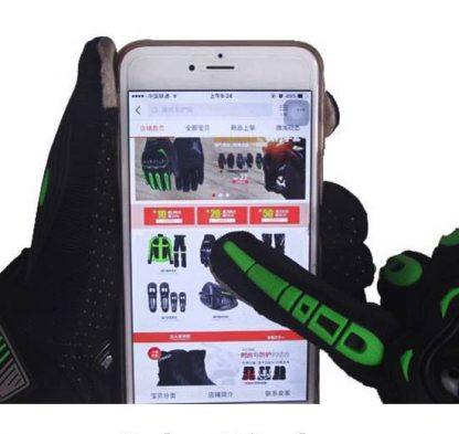 Guantes Touch Screen Motocross